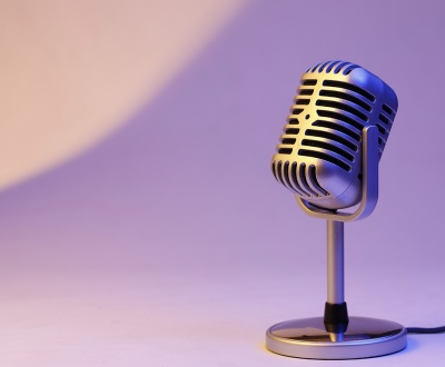 Content recording microphone audio podcast