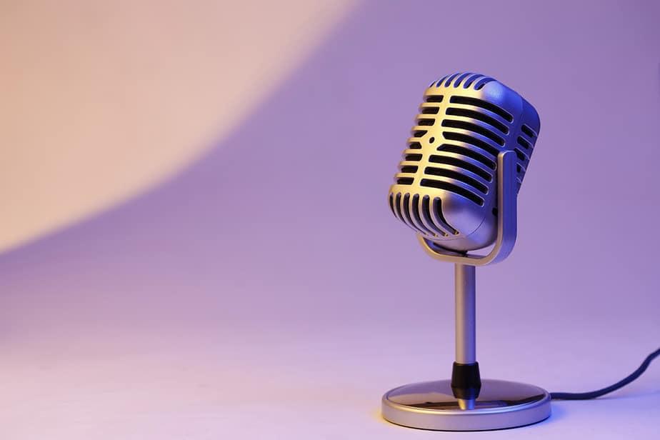 Content recording microphone audio podcast